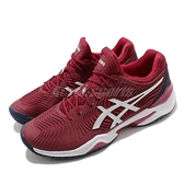 Asics 網球鞋 Court FF Novak Shanghai Open 紅 白 男鞋 上海大師賽 球王著用款 【ACS】 1041A089600
