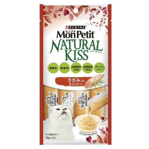 【6包組】*WANG*MonPetit貓倍麗《NATURAL KISS天然小鮮肉泥10g*4入》不使用合成添加物貓肉泥