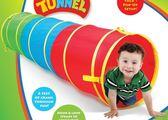 黑五好物節兒童帳篷便攜玩具屋室內陽光隧道鉆洞幼兒園爬行筒gogo購