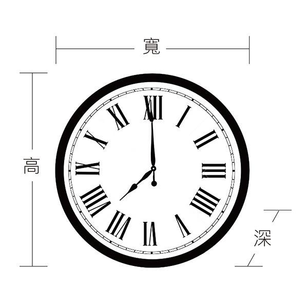美國原裝進口歐風古典時鐘-29