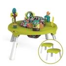 新加坡ORIBEL 成長型遊戲中心/遊戲桌(含椅凳x2) 綠色