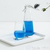 托盤長方形塑料水果盤大號餐盤水杯端菜托盤日式創意茶盤家用 深藏blue