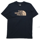 THE NORTH FACE 短T 藏青 卡其LOGO 短袖 休閒 情侶 男女 (布魯克林) NF0A4U8ZRG1