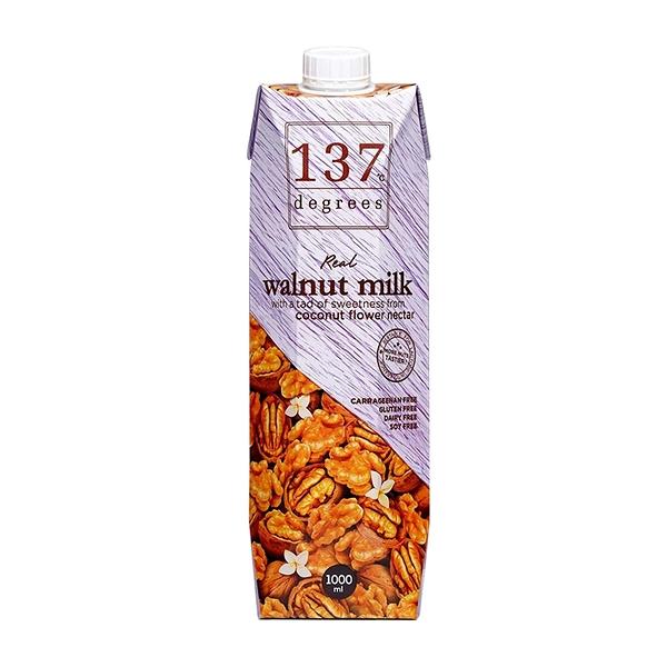 【137degrees】核桃飲 1000ml/瓶
