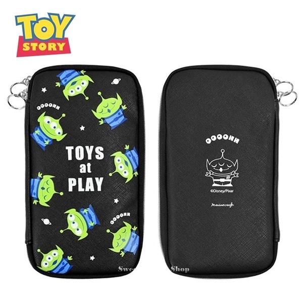 日本限定 迪士尼 玩具總動員 三眼怪 多功能 文具袋 / 筆袋 / 鉛筆盒