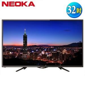 NEOKA新禾 32吋LED抗藍光液晶顯示器+視訊盒(32NS100)
