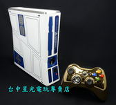 【XB360主機 可刷卡】☆ 全新 XBOX 360 星際大戰 320GB 320G 限定主機 金色手把 ☆特價優惠