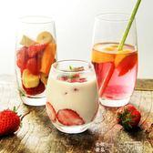 日式ins同款思慕雪杯 橢圓玻璃杯 酸奶杯慕斯杯 果汁杯 玻璃水杯 巴黎衣櫃