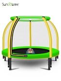 (快出) 蹦蹦床兒童室內寶寶碰彈跳床小孩帶護網家庭蹭蹭床小型跳跳床