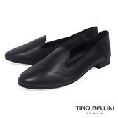 Tino Bellini 義大利進口經典臘感樂福鞋 _ 黑 A83011A 歐洲進口款