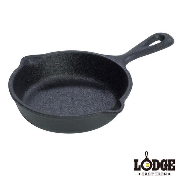 【美國Lodge】鑄鐵迷你平煎鍋3.5吋/8.8公分