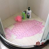 pvc浴室防滑墊子淋浴洗澡按摩墊門墊地墊防水墊腳墊大號吸盤浴缸【99元專區限時開放】TW