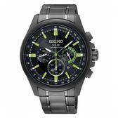 限量【分期0利率】 SEIKO 精工錶 光動能 三眼計時錶 40mm 藍寶石鏡面 公司貨 SSC689P1
