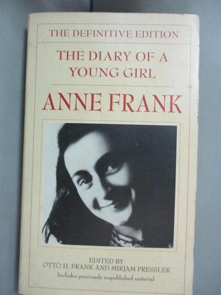 【書寶二手書T2/原文書_HFA】The Diary of a Young Girl-The Definitive Edition_Frank, Anne