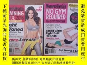 二手書博民逛書店WOMENSHEALTH罕見:NO GYM REQUIRED AND TRAINING GUIIDE 2016【2