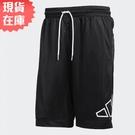 【現貨】Adidas BIG LOGO SHORTS 男裝 短褲 籃球 吸濕排汗 透氣 防撕 黑【運動世界】GT3018
