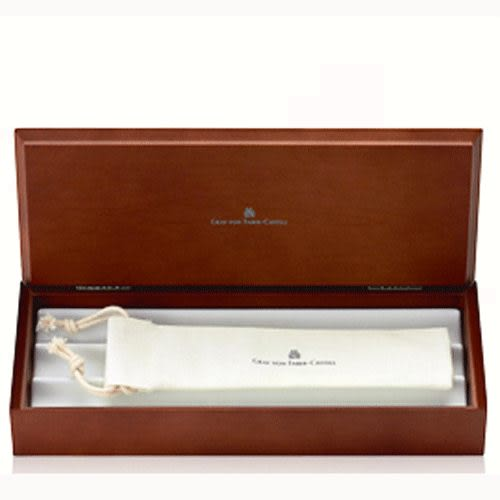 德國Graf von Faber-castell Classic anello Roller-ball pen繪寶頂級伯爵系列鈦合金鋼珠筆*145611