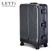 LETTi  太空鋁行II 29吋鋁框行李箱(時尚黑)