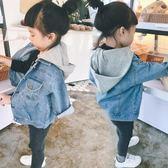 女童外套 女童上衣1-3歲4男女寶寶牛仔外套韓版嬰幼兒童開衫 米蘭街頭