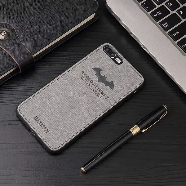 【SZ14】仿皮紋鹿頭蝙蝠俠 iPhone Xs手機殼 iPhone XR iPhone XS Max手機殼