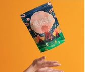好米芽 寶寶最愛:無調味爆米麵-義大利麵50g 台灣手工非油炸 (購潮8)