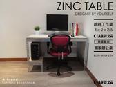 電腦桌工作桌辦公桌♞空間特工♞長4 尺x 深2x 高2 5 單邊層架鍍鋅免螺絲角鋼D 款DZ40SN
