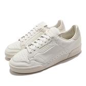 【海外限定】adidas 休閒鞋 Continental 80 白 米白 皮革 男鞋 運動鞋 愛迪達 三葉草【ACS】 EG6719
