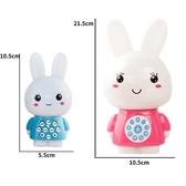 智早教玩具兒童迷你兔故事機智慧兔子學習機0-3-6歲益智玩具 交換禮物
