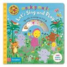Monkey Music:Let's Sing And Play 歡樂唱 精裝有聲CD書