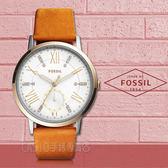 FOSSIL手錶專賣店 ES4161 璀璨羅馬數字指針女錶 皮革錶帶 白色錶面 防水50米 新品 保固