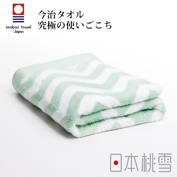 日本桃雪今治北歐浴巾(幸福綠) 鈴木太太