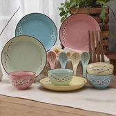 日式家用陶瓷禮品餐具碗筷碗盤碗碟套裝盤子飯碗米飯碗組合禮盒裝