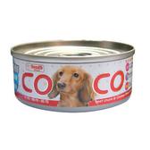 Co Co 聖萊西 機能狗罐 牛肉+雞肉+起司 80g X 48入