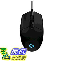 羅技G203 Prodigy RGB有線遊戲 滑鼠- 黑色 [美國代購]
