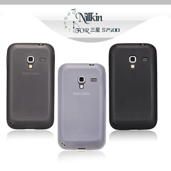 ☆愛思摩比☆~Samsung S7500 Galaxy Ace Plus 專用NILLKIN 超級磨砂 TPU 彩虹套 果凍套