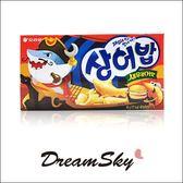 韓國 ORION 好麗友 鯊魚餅乾 (鮮蝦風味) 40g 蝦風味 海洋餅乾 餅乾 小魚餅 零食 韓國餅乾 DreamSky