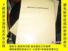 二手書博民逛書店PLASMA罕見CONFINE MENT9837 R.D.HAZ