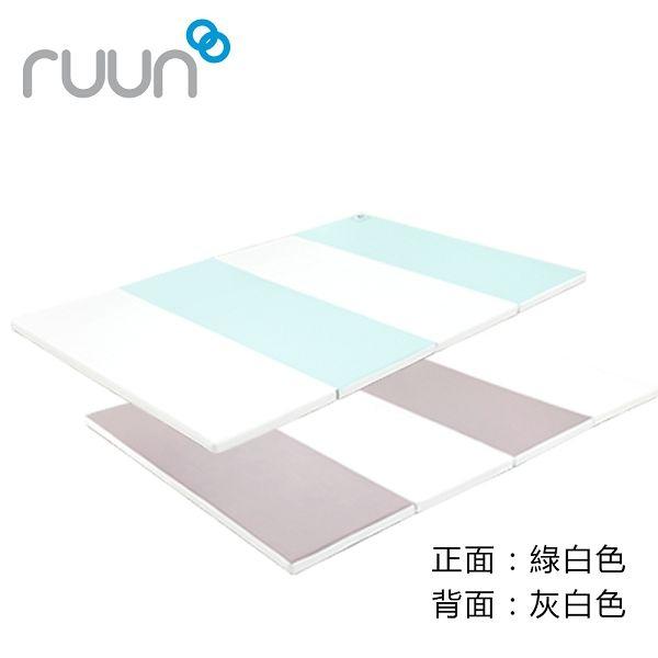 韓國 IFAM 簡約風遊戲圍欄+灰白綠地墊組合(3色可選)