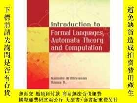 二手書博民逛書店Introduction罕見To Formal Languages, Automata Theory And Co