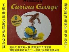 二手書博民逛書店A罕見Treasury of Curious George 好奇猴喬治的寶藏 英文原版Y19219 H. A.