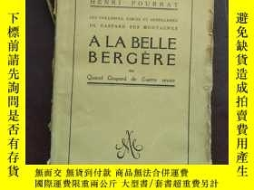 二手書博民逛書店ALA罕見BELLE B E R G E R E 毛邊書Y6699 出版1925