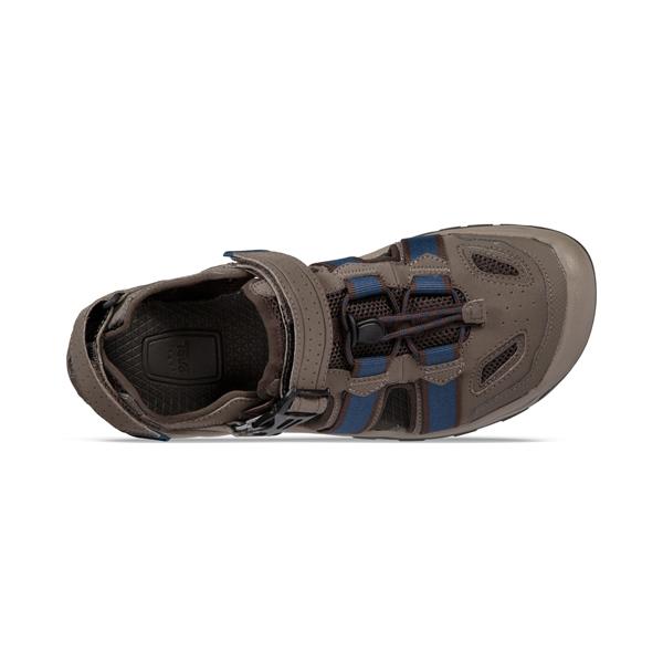 美國TEVA 男 Omnium 2 護趾水陸機能涼鞋 1019180BNGC 藍橄欖綠 運動涼鞋 水陸涼鞋 OUTDOOR NICE