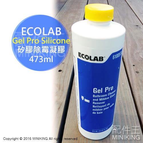 現貨 送擠壓頭 公司貨 ECOLAB Gel Pro Silicone 除霉凝膠 矽利康 除黴 發霉長黴浴室