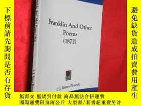 二手書博民逛書店Franklin罕見And Other Poems (1872)