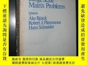 二手書博民逛書店Large罕見Scale Matrix Problemms (大