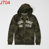 AF Abercrombie & Fitch A&F A & F 男 外套帽T J704