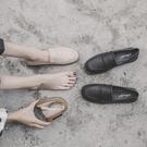 英倫小皮鞋女學院風夏季2020新款韓版百搭樂福鞋女軟皮平底單鞋女 【端午節特惠】