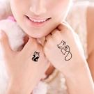 薇嘉雅       高貴的貓 紋身貼紙 HM528-1