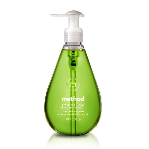 美國【美則method】綠茶蘆薈天然洗手乳 354ml