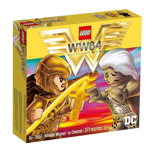 76157【LEGO 樂高積木】超級英雄 Super Heroes- 神力女超人 vs 豹女 (371pcs)